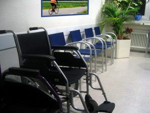 waiting room in medical office